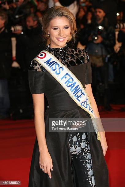 Camille Cerf arrives at the 16th NRJ Music Awards at the Palais des Festivals on December 13 2014 in Cannes France