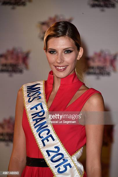 Camille Cerf attends the 17th NRJ Music Awards at Palais des Festivals on November 7 2015 in Cannes France