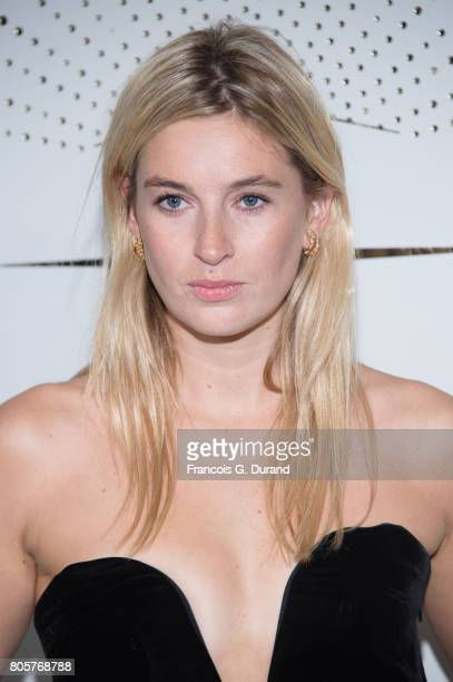 Camille Charriere attends the 'Chaumet Est Une Fete' Haute Joaillerie Collection Launch as part of Haute Couture Paris Fashion Week on July 2 2017 in...