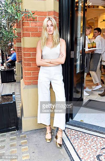 Camille Charriere attends the Club Monaco Summer Cocktail Party on July 20 2016 in London England