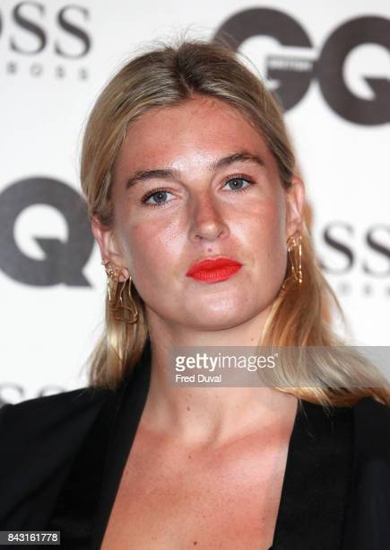 Camille Charriere attends the GQ Men Of The Year Awards at Tate Modern on September 5 2017 in London England