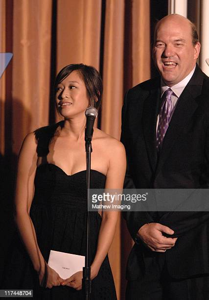 Camille Chen and John Carroll Lynch during The 11th Annual PRISM Awards Award Ceremony at Beverly Hills Hotel in Beverly Hills California United...