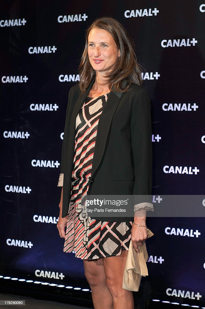 Camille Cottin at the 'Rentree De Canal +' photocall at Porte De Versailles on August 28, 2013 in Paris, France.