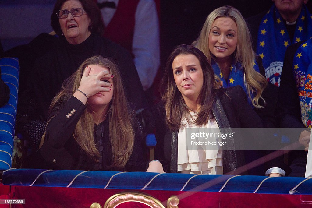Camille Gottlieb and Pauline Ducruet attend the opening of Monte-Carlo 36th International Circus Festival on January 19, 2012 in Monte-Carlo, Monaco.