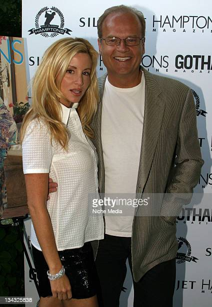 Camille Grammer and Kelsey Grammer during Hamptons Magazine Celebrates Cover Stars Camille Grammer and Kelsey Grammer and the Opening of the Hamptons...