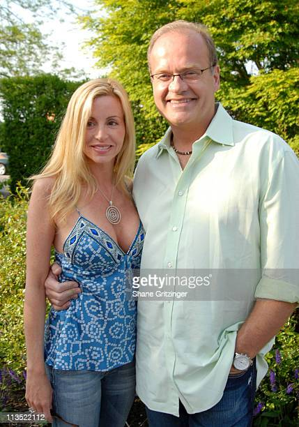 Camille Grammer and Kelsey Grammer during Jason Binn and Hamptons Magazine 6th Annual Memorial Day Celebration at Private Hampton Residence in...