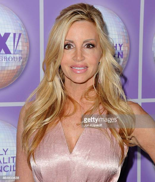 Camille Grammer arrives at the Family Equality Council's Los Angeles Awards Dinner at The Beverly Hilton Hotel on February 28 2015 in Beverly Hills...