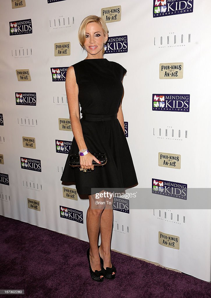 Camille Grammer attends Mending Kids International celebrity poker tournament at The London Hotel on December 1, 2012 in West Hollywood, California.