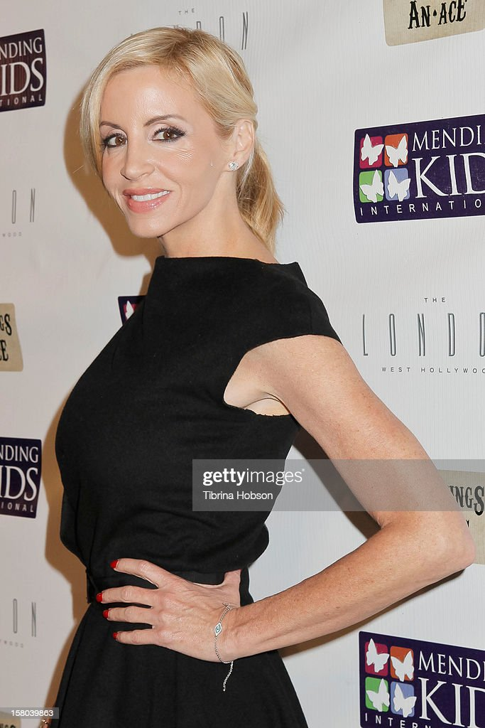 Camille Grammer attends the Mending Kids International celebrity poker tournament at The London Hotel on December 1, 2012 in West Hollywood, California.