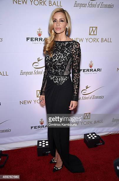 Camille Grammer attends The New York Ball The 20th Anniversary Benefit for The European School of Economics at Trump Tower on November 19 2014 in New...