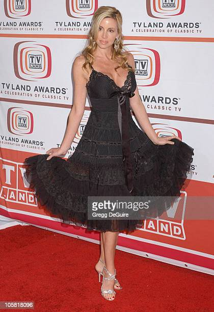 Camille Grammer during 4th Annual TV Land Awards Arrivals at Barker Hangar in Santa Monica California United States