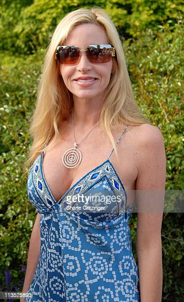 Camille Grammer during Jason Binn and Hamptons Magazine 6th Annual Memorial Day Celebration at Private Hampton Residence in Southampton New York...