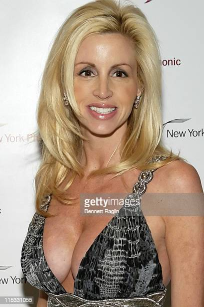 Camille Grammer during The New York Philharmonic Spring Gala Celebrates 'My Fair Lady' March 7 2007 at Avery Fisher Hall in New York City New York...