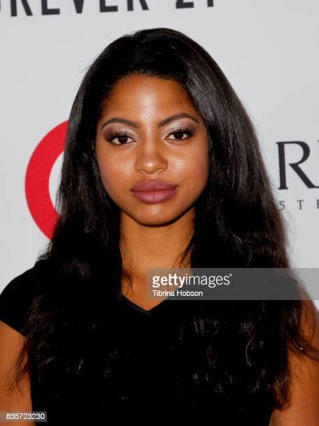 Camille Hyde attends the NYX Professional Makeup's 6th annual FACE Awards at The Shrine Auditorium on August 19 2017 in Los Angeles California