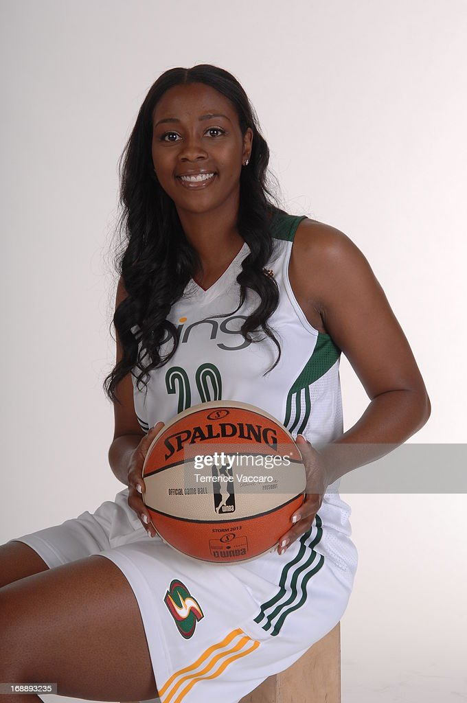 <a gi-track='captionPersonalityLinkClicked' href=/galleries/search?phrase=Camille+Little&family=editorial&specificpeople=707865 ng-click='$event.stopPropagation()'>Camille Little</a> #20 of the Seattle Storm poses for a photo during WNBA Media Day on May 14, 2013 at Key Arena in Seattle, Washington.