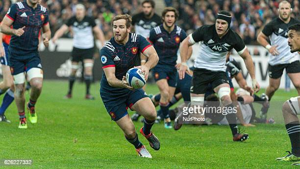 Camille Lopez of France during the international friendly test match between France and New Zealand at Stade de France on November 26 2016 in...
