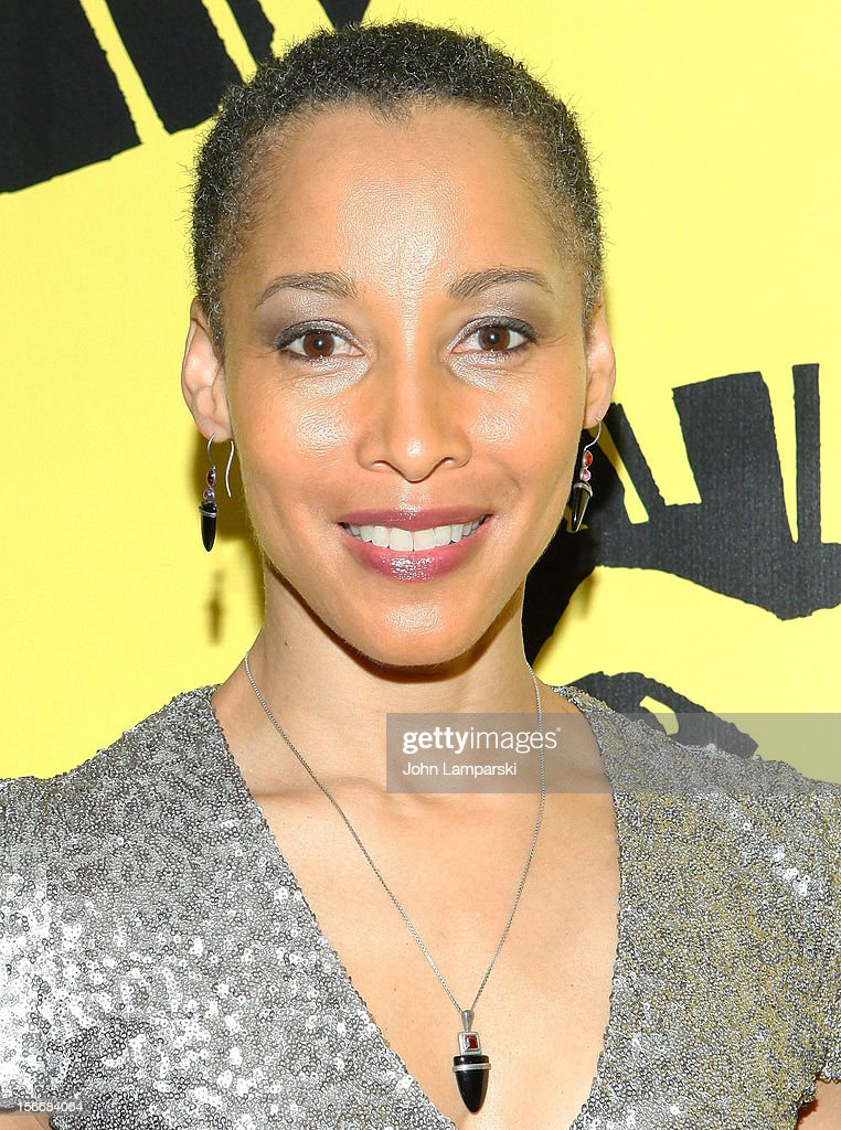 Camille M. Brown attends the 'The Lion King' On Broadway 15th Anniversary Celebration at the Minskoff Theatre on November 18, 2012 in New York City.