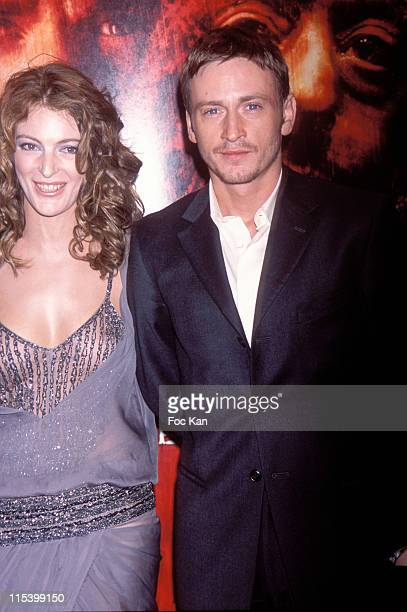 Camille Nata and Benoit Magimel during 'Purple Rivers 2' Paris Premiere at Gaumont Marignan in Paris France