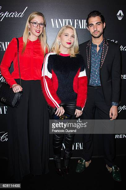 Camille Seydoux and Hugo Toucas attend the Vanity Fair Dinner With Chopard In Honor To The Most 50 Influential French Personalities In The World at...