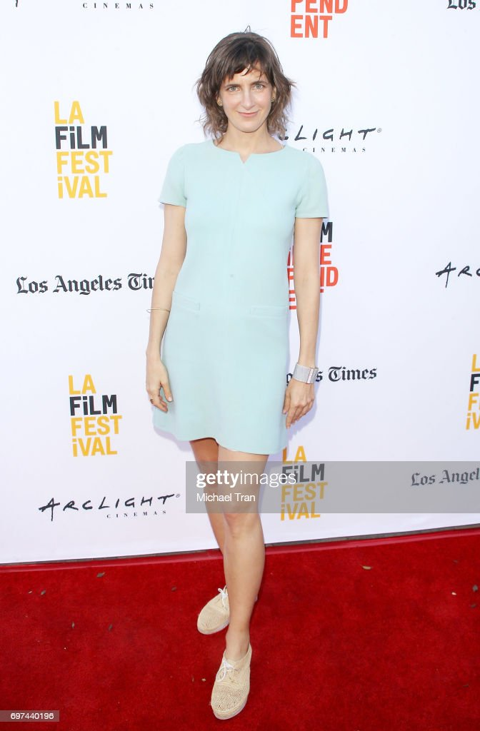 Camille Thoman attends the 2017 Los Angeles Film Festival - premiere of 'Never Here' held at Arclight Cinemas Culver City on June 18, 2017 in Culver City, California.