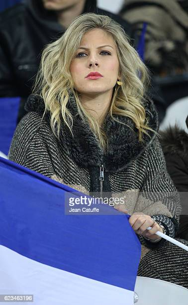 Camille Tytgat Varane wife of Raphael Varane of France attends the international friendly match between France and Ivory Coast at Stade Felix...