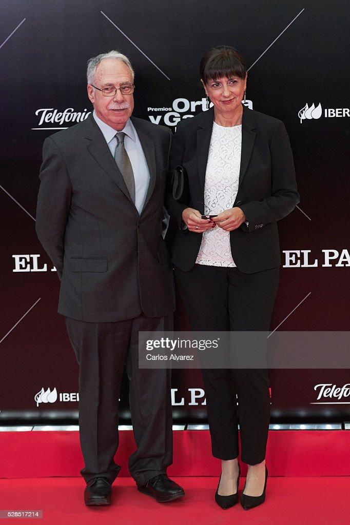 Camilo Jose Cela Conde attends 'Ortega Y Gasset' journalism awards 2016 at Palacio de Cibeles on May 05, 2016 in Madrid, Spain.