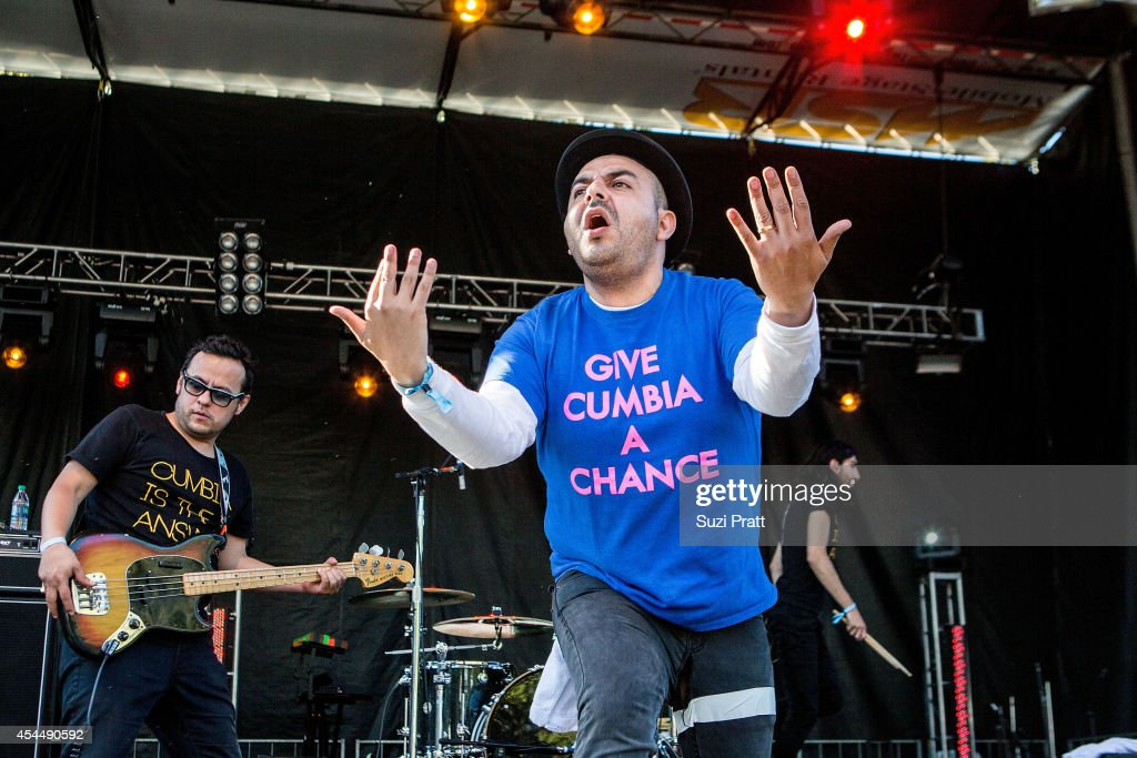 Camilo Lara of Mexico Institute of Sound performs at the Bumbershoot Music and Arts Festival on September 1, 2014 in Seattle, Washington.