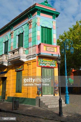 Caminito - La Boca - Buenos Aires : Stock Photo