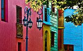 Caminito Street at Buenos Aires Argentina