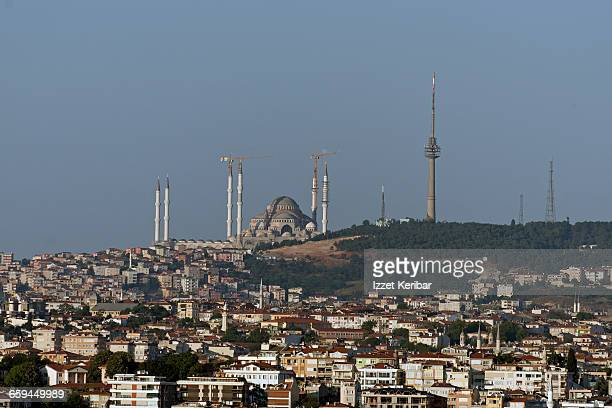Camlica Mosque Stock Photos and Pictures  Getty Images