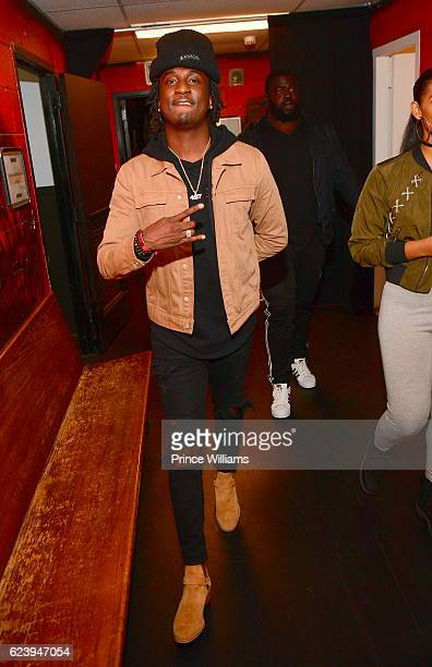 Camp Backstage at the PartyNextDoor and Jeremih Summer's Over Tour at The Tabernacle on November 14 2016 in Atlanta Georgia