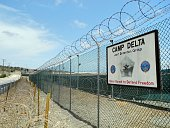 Camp Delta at the US Naval Base in Guantanamo Bay Cuba on August 7 2013 AFP PHOTO/CHANTAL VALERY