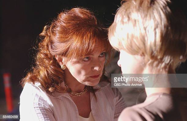 'Camp Fear' Blair Brown guest stars as Margie Winters the overbearing mother whose daughter Dara's mysterious death near a strict rehabilitation camp...