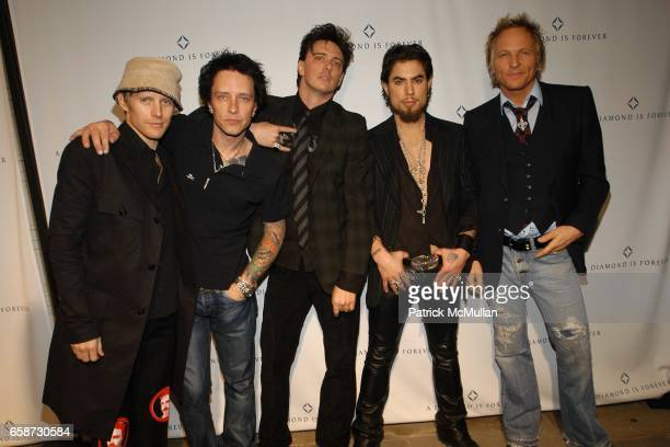 Camp Freddy attend 'A Diamond is Forever' PreOscar Party with Concert Performance by AllStar Band 'Camp Freddy' at Soho House Los Angeles on February...