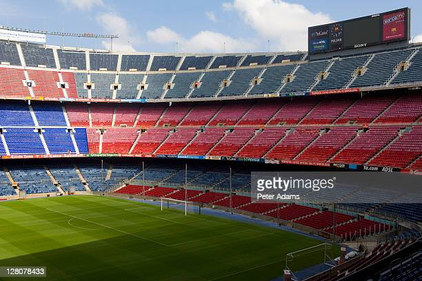 Camp Nou, Home of FC Barcelona, Barcelona, Catalonia, Spain