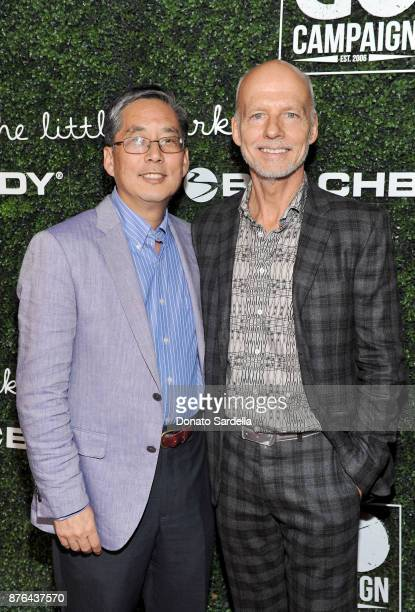 Campaign Founder and CEO Scott Fifer and Dr Kenneth Kim attend the 2017 GO Campaign Gala at NeueHouse Los Angeles on November 18 2017 in Hollywood...