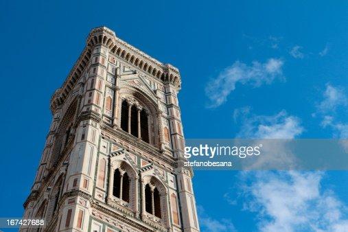 Campinile di Giotto-Santa Maria del Fiore : Foto de stock