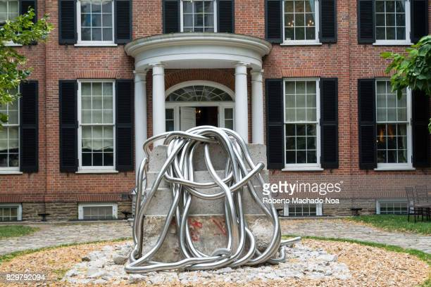 Campbell House facade and the disruptive 'Terrazzo Tower' art by Harley Valentine The building is an 1822 heritage house in the downtown district A...