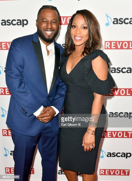 Camper and Vice President Rhythm Soul/ Urban Membership ASCAP Nicole GeorgeMiddleton at the ASCAP 2017 Rhythm Soul Music Awards at the Beverly...