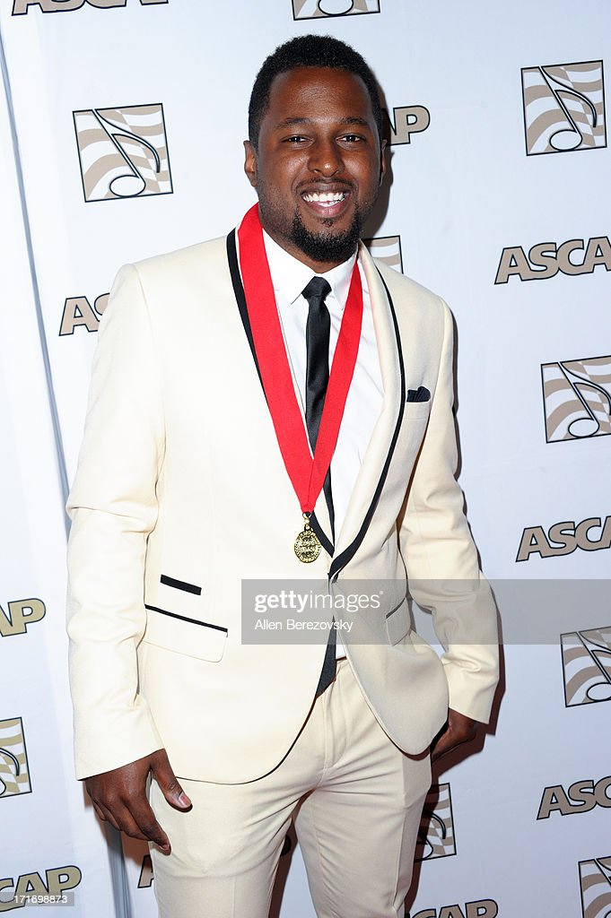 DJ Camper arrives at ASCAP's 26th Annual Rhythm & Soul Music Awards at The Beverly Hilton Hotel on June 27, 2013 in Beverly Hills, California.