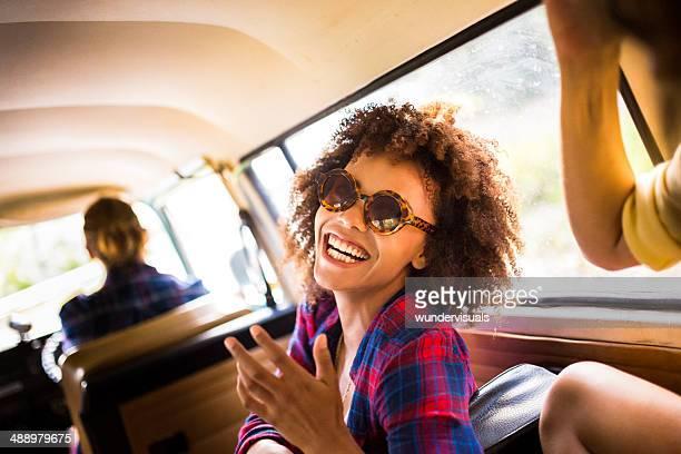 Caravanas van hipsters