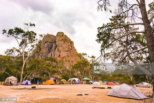 Campers at Grampians National Park