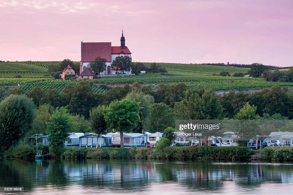 Campground & Maria im Weingarten pilgrimage church