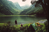 Camping at Lake Mackenzie