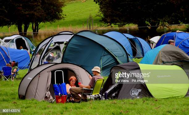 Camping at the Big Chill festival Ledbury Herefordshire