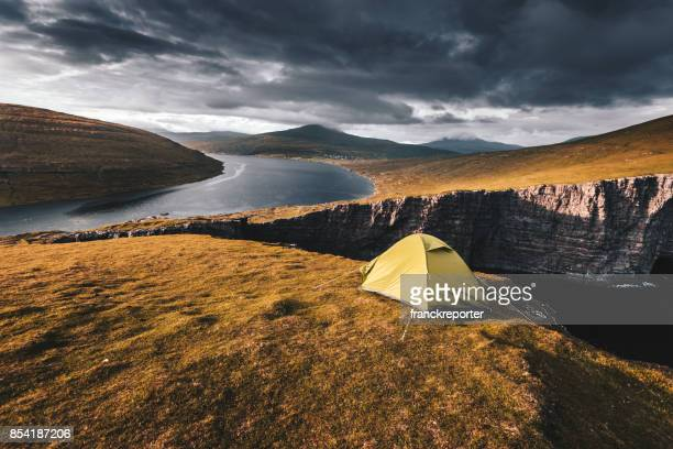 Camping auf den Färöer Inseln