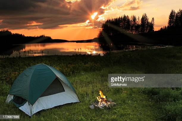 Camping at the Lake