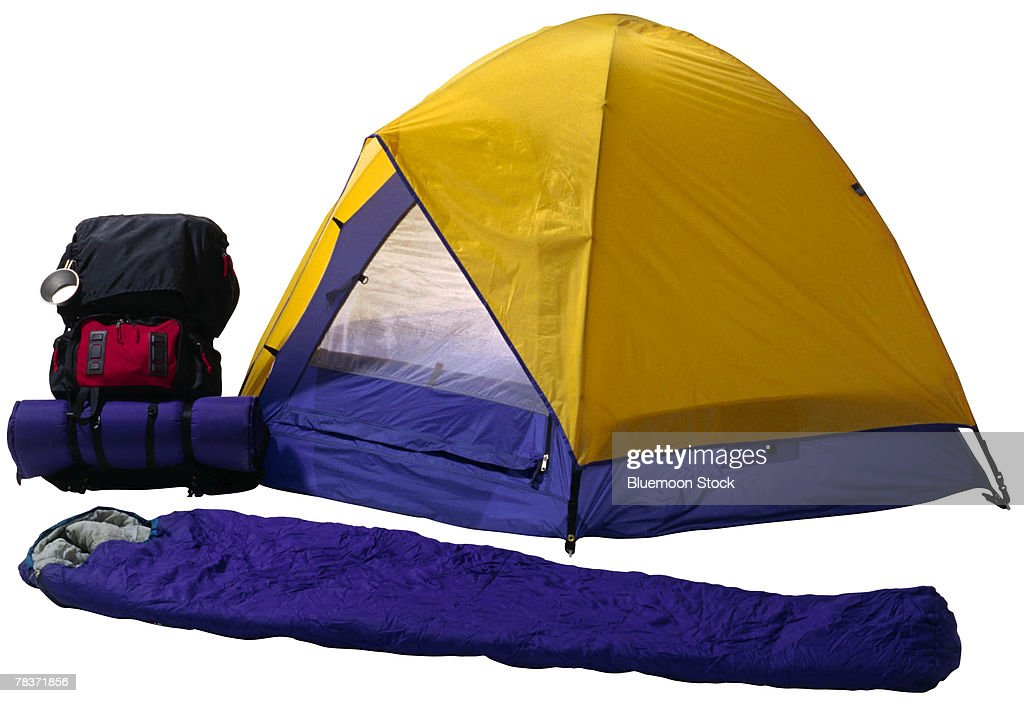 Camping gear : Stock Photo
