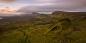 Camping in The Quiraing