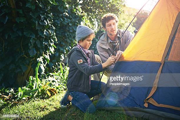 キャンプが子供時代の思い出は、